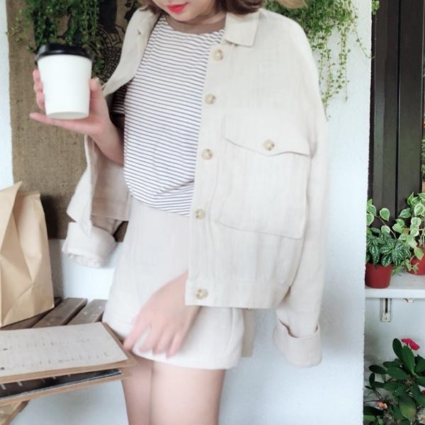 PAZZO休閒橫條紋配色彈性圓領短袖上衣 (4).jpg