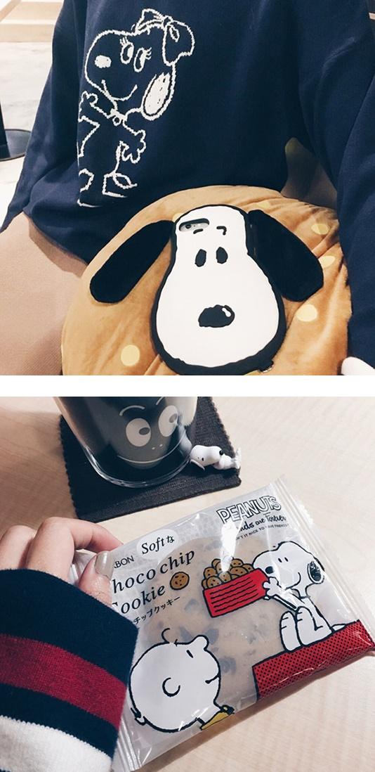 史努比餅乾是週年紀念的限定餅乾,是上班肚子餓的急救小幫手 : P