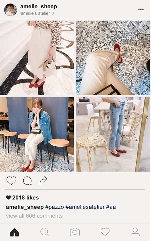PAZZO韓國小紅鞋