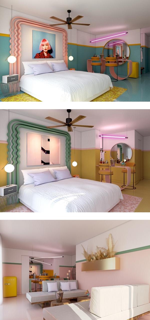 西班牙粉紅飯店 PARADISO IBIZA ART HOTEL (4).jpg