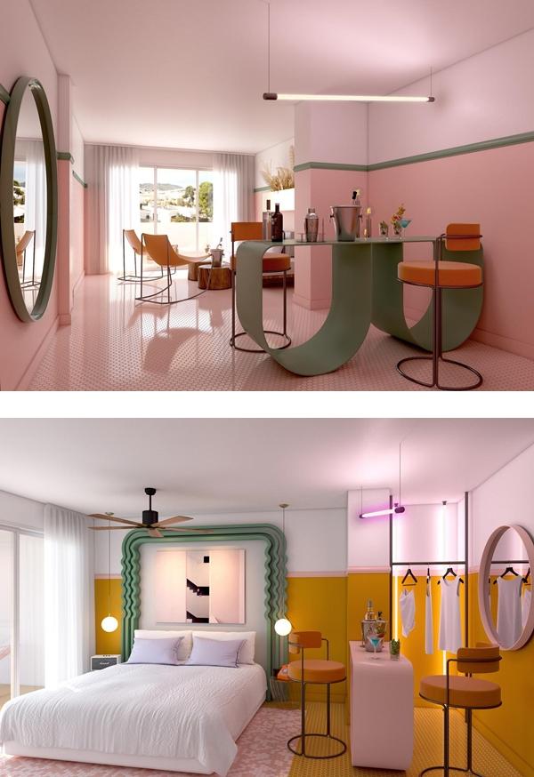 西班牙粉紅飯店 PARADISO IBIZA ART HOTEL (5).jpg