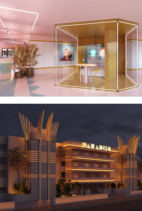 西班牙粉紅飯店 PARADISO IBIZA ART HOTEL (10).jpg