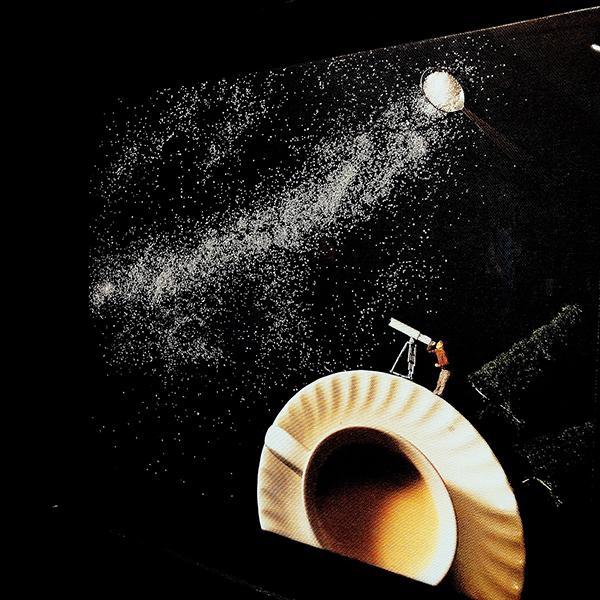 撒出的糖,是不經意的銀河。