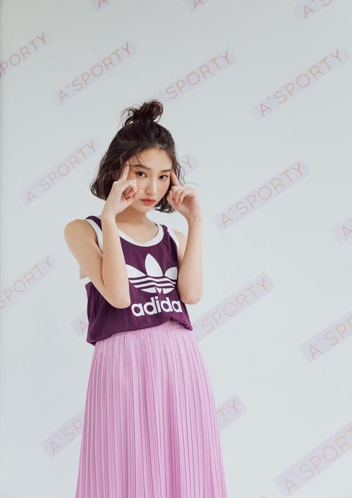 pazzo look/ adidas ORIGINALS CE4186休閒運動背心