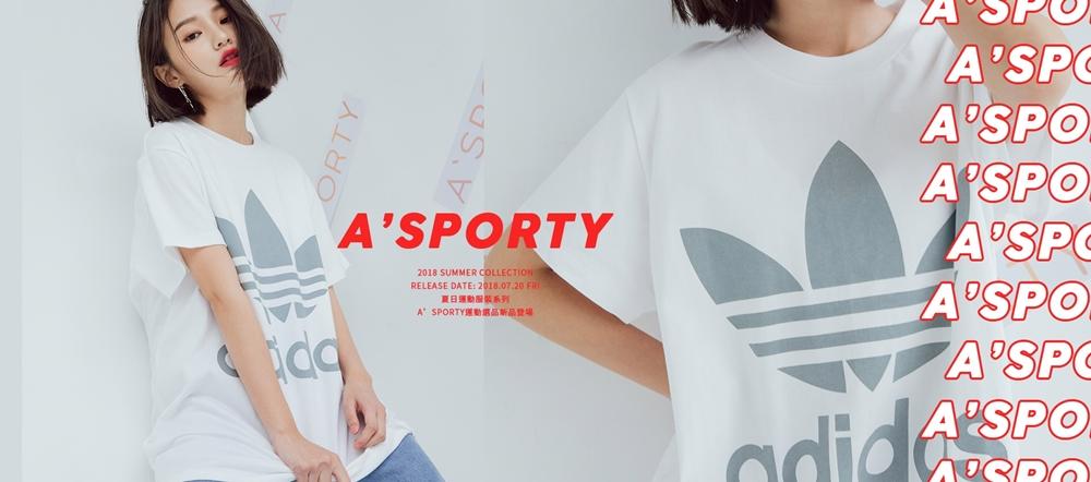 pazzo look/ adidas Originals CE2437 三葉草BIG TREFOIL TEE短袖T恤