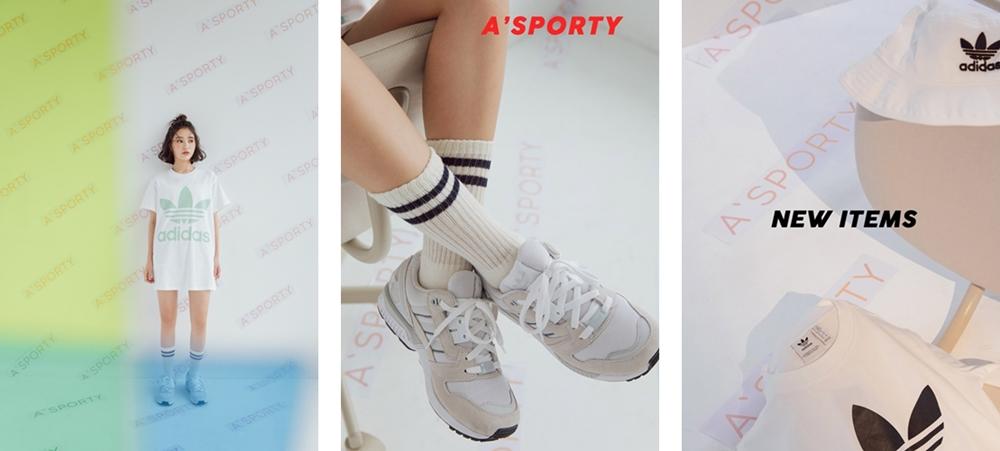 pazzo look/ adidas Originals CE2437 三葉草BIG TREFOIL TEE短袖T恤 + adidas Originals ZX 8000 + adidas Originals CE5583 logo運動背心 + adidas Bucket BK7350三葉草 漁夫帽