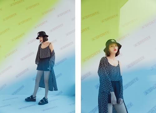 pazzo look/ adidas Originals Bucket Hat BK7345 三葉草漁夫帽  + Adidas 運動休閒短褲