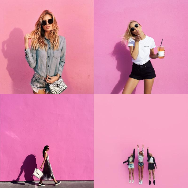 LA景點, 粉紅色, 打卡牆, PAZZO, PAZZO MAG, 穿搭