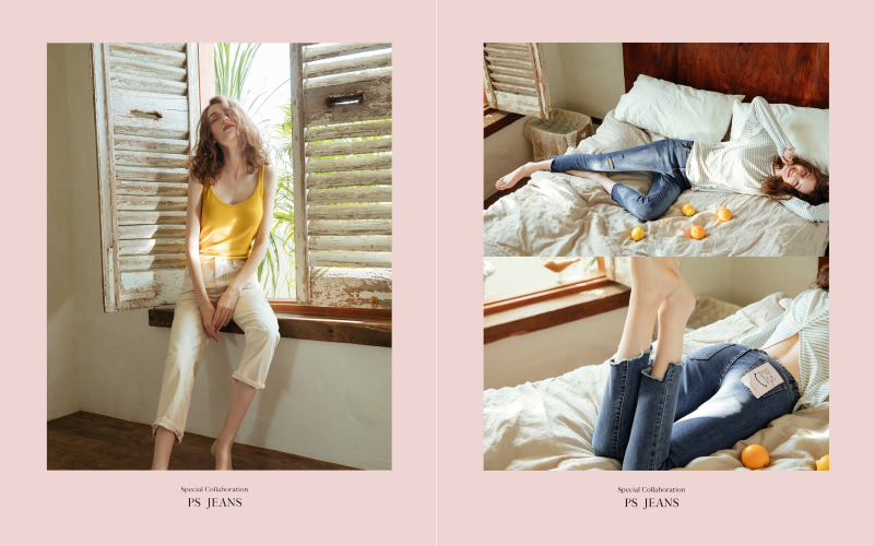 pazzo look/  #PS201 韓國製造˙顯瘦直筒牛仔褲   pazzo look/  #PS101彈性修身刷破牛仔褲