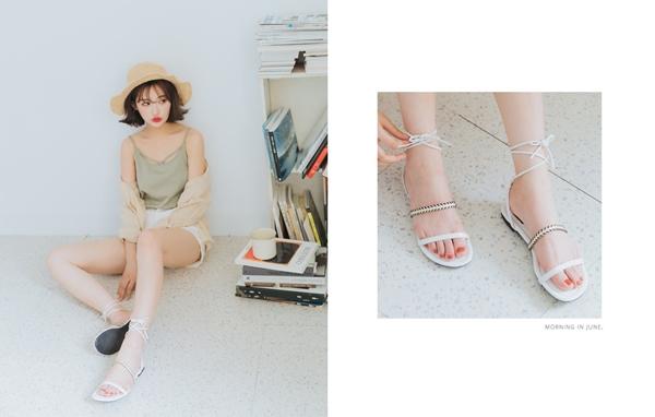 pazzo look/  夏日簡約時髦綁帶涼鞋