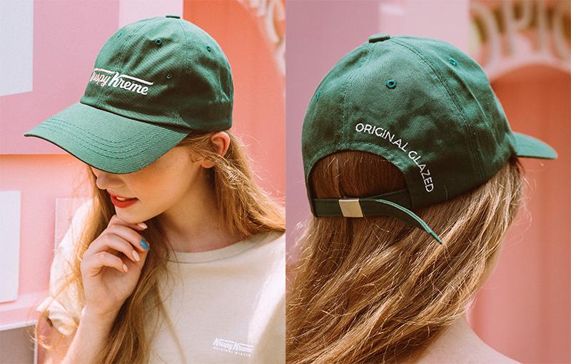 pazzo look/  Krispy Kreme聯名刺繡老帽