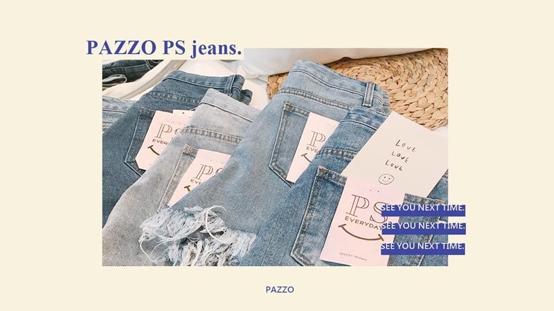 PAZZO, PS顯瘦丹寧, 夏日短褲