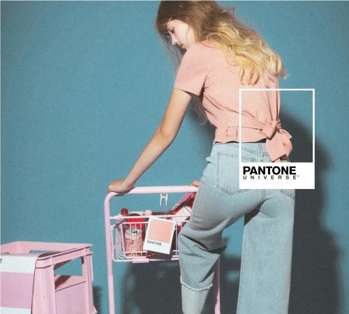 pazzo look/ PANTONE UNIVERSE MIT甜美綁結圓領上衣