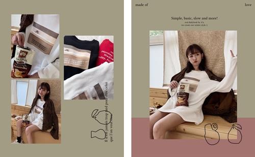 pazzo look/  MIT 慵懶貓咪日常Design Tee