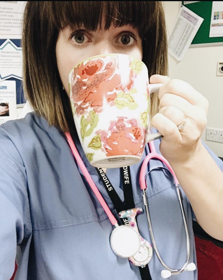 Megan Midwife Student Tea Bog