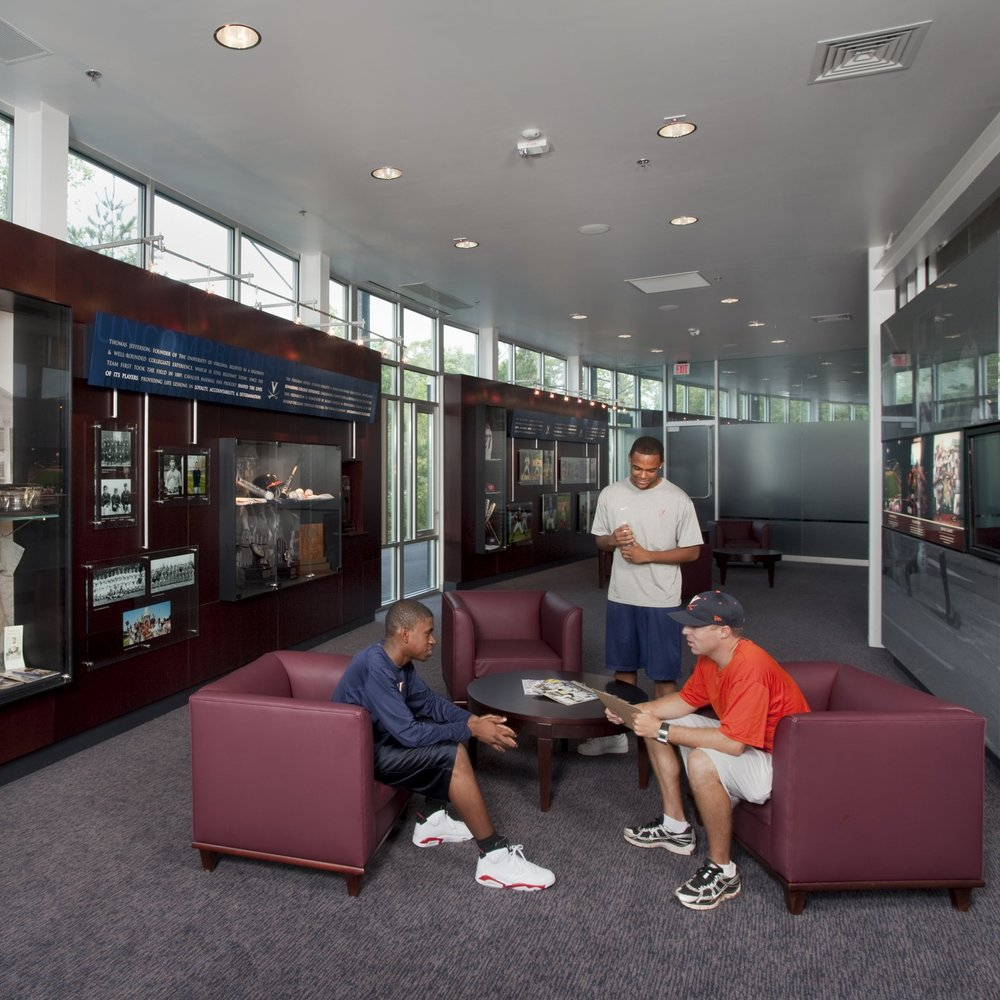 UVA Davenport Field Hall of Fame  Graphics + Exhibit Design