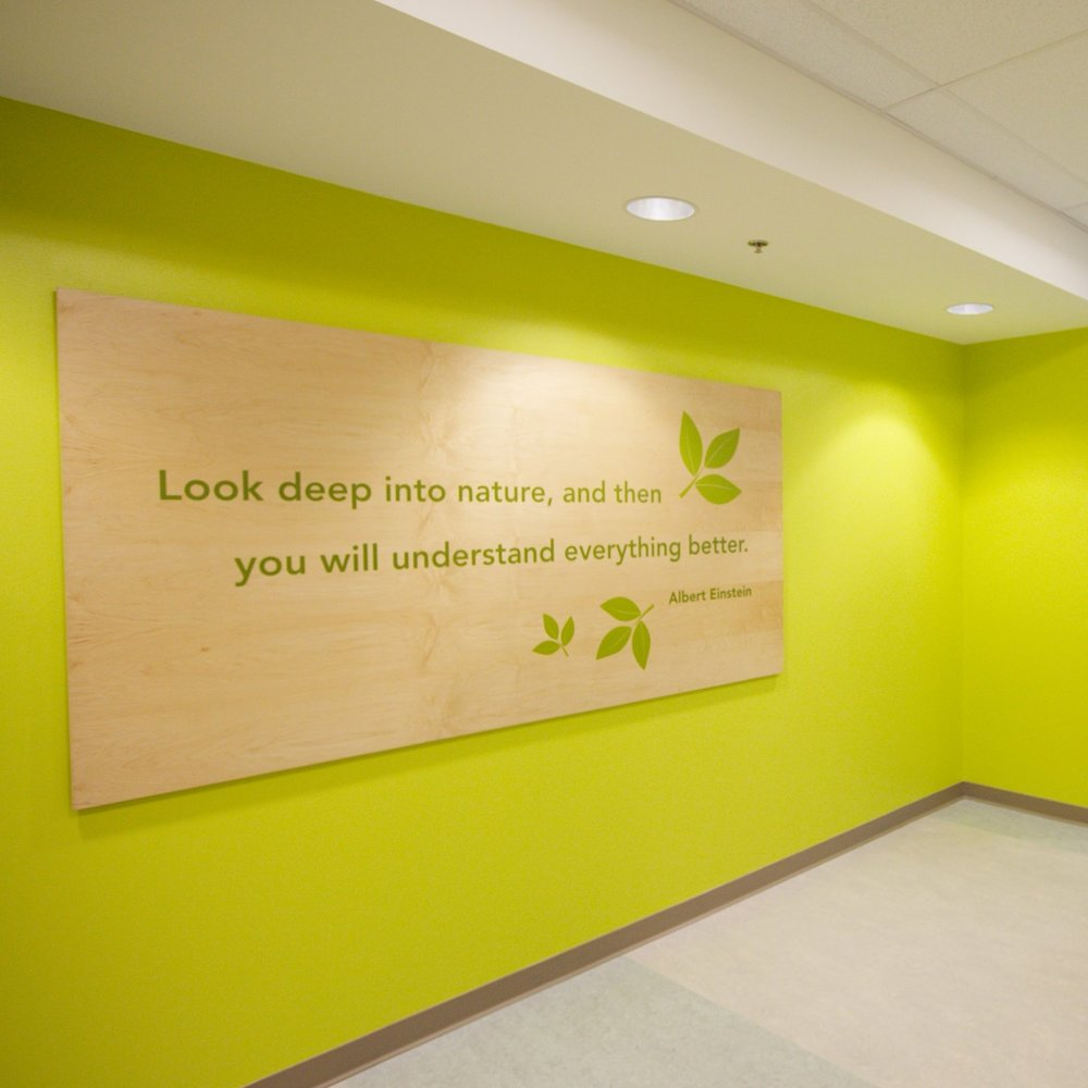 Broad Rock & Oak Grove Elementary Schools Branded Environment