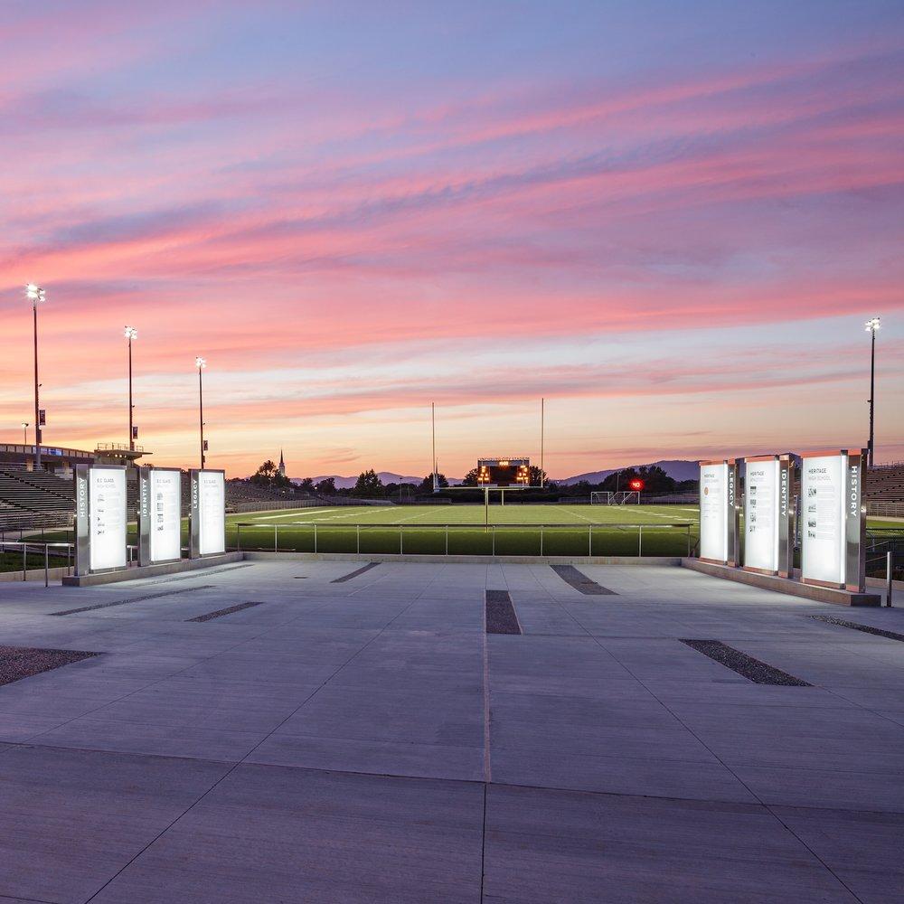 Lynchburg City Stadium  Signage + Monuments