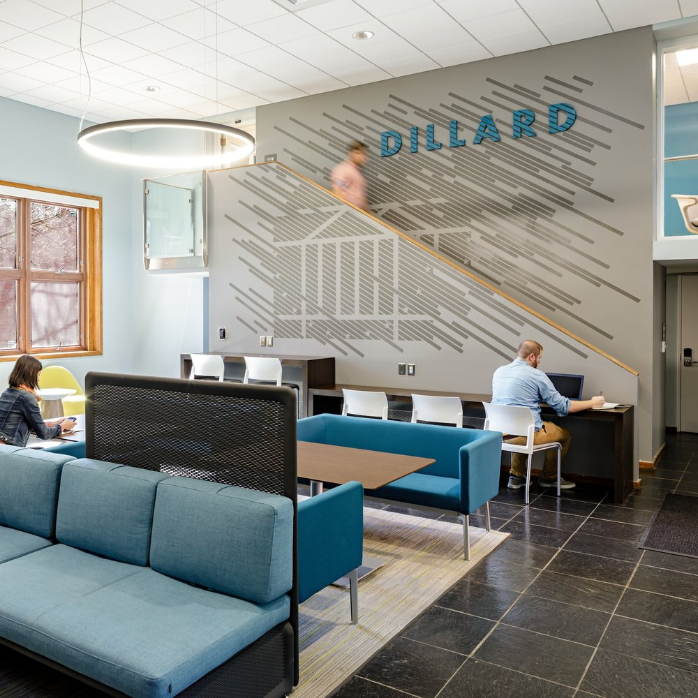 University of Virginia Gooch + Dillard Halls  Graphics