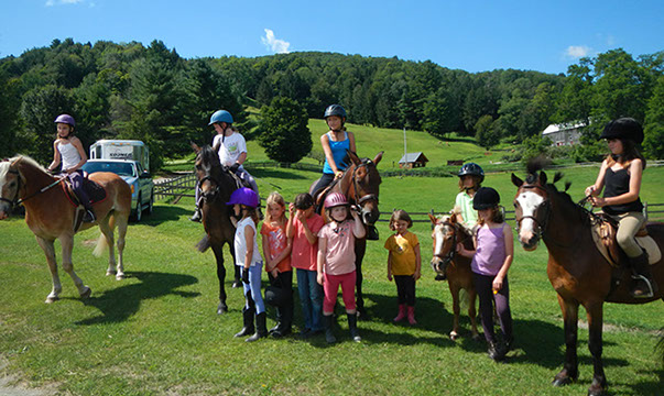 Kids Horse Camp Hitching Post Farm