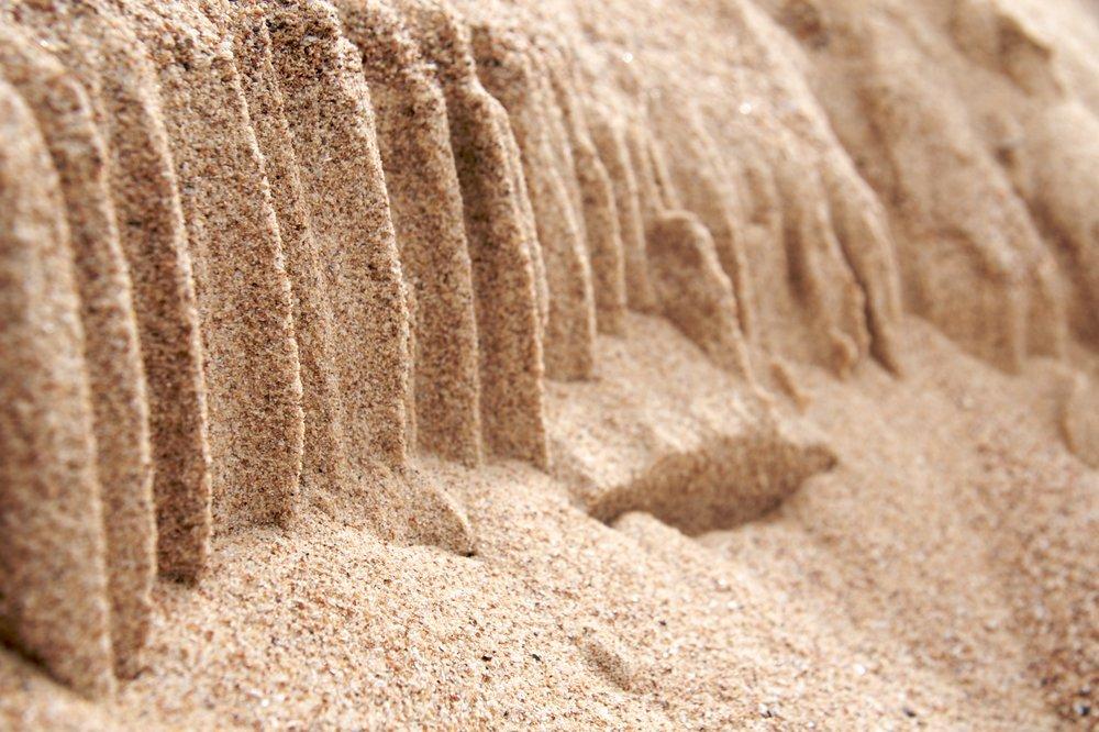 Dato curioso - La arena de playa puede componerse hasta un 95% de cuarzo
