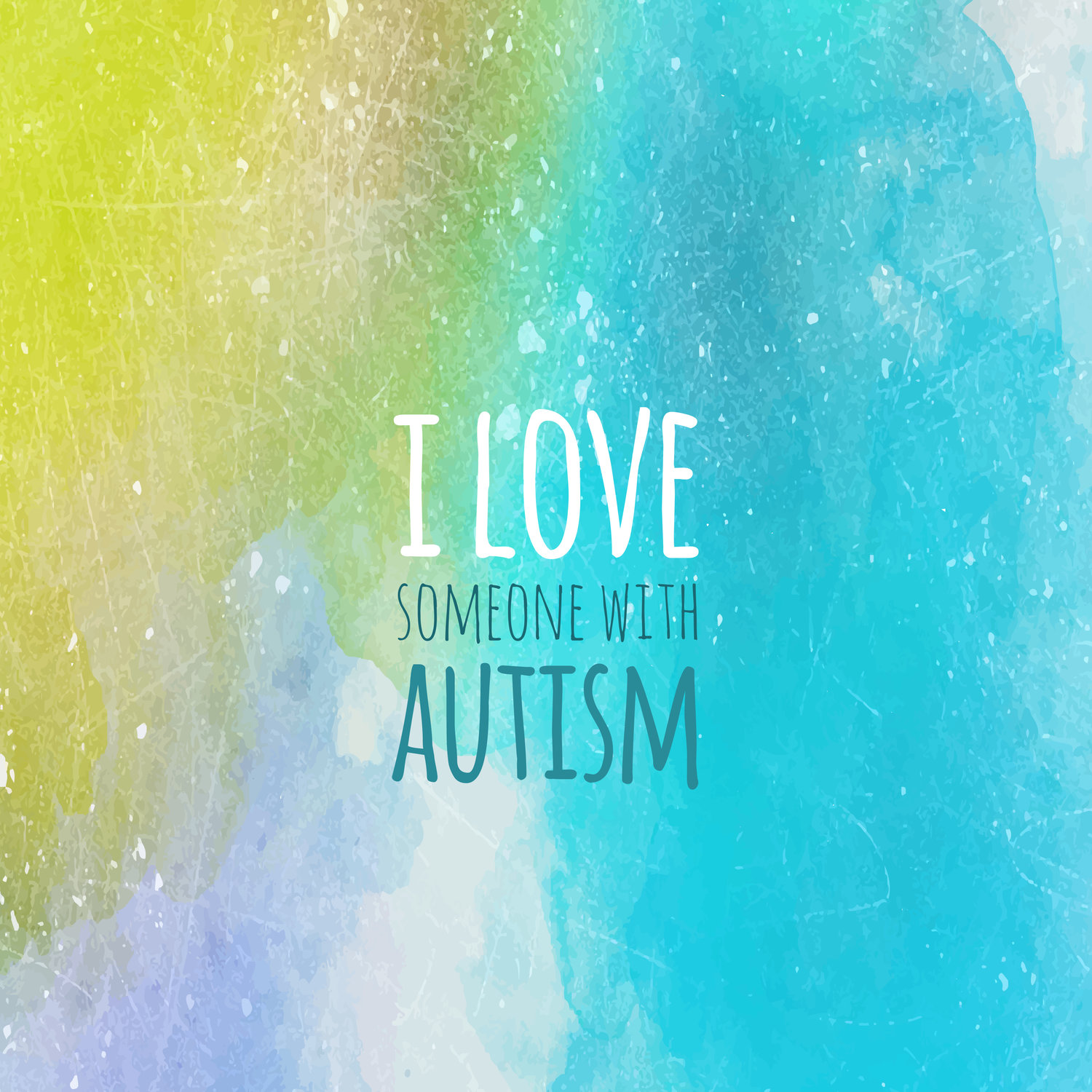 Mobile Wallpaper I Love Someone With Autism The Pearl