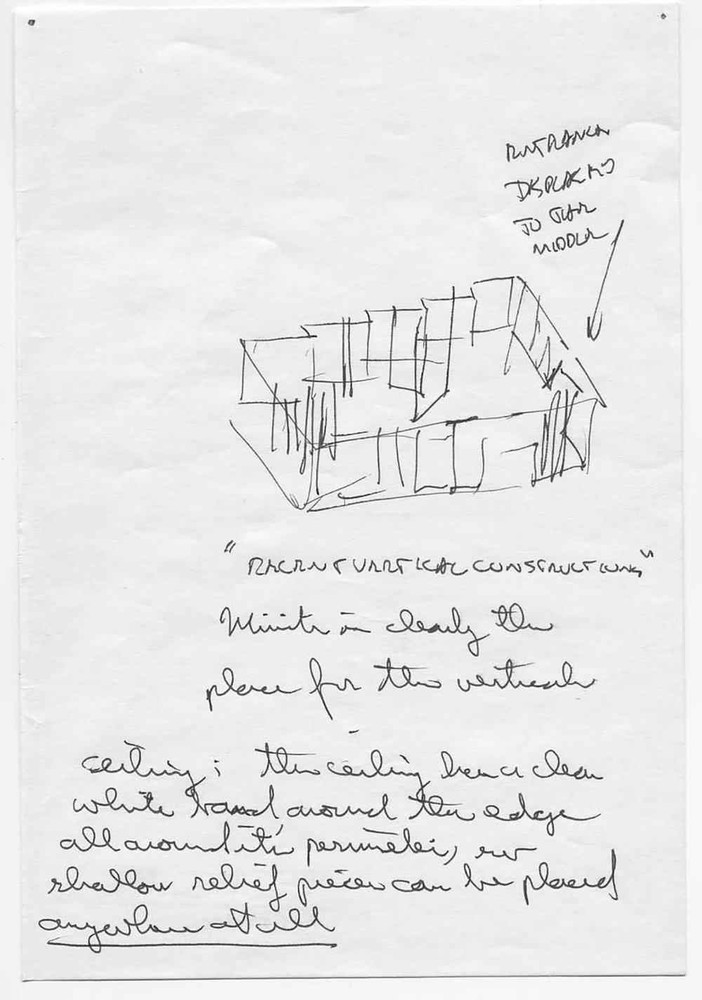 Westfälischer Kunstverein, Munster, exhibition sketch