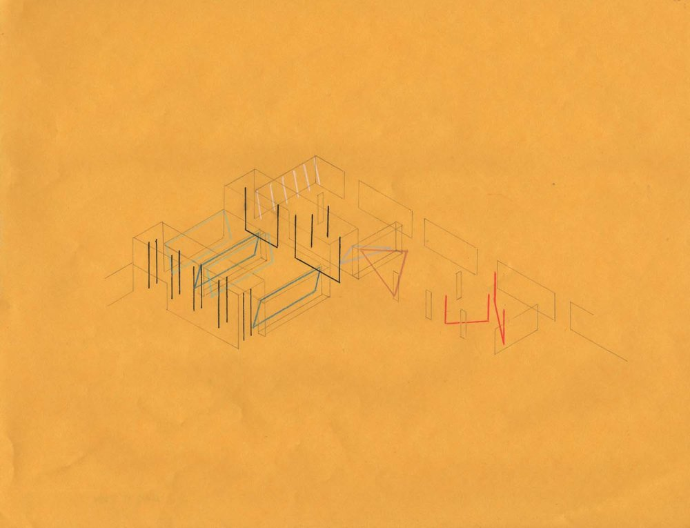 Dia:Beacon, New York, drawing