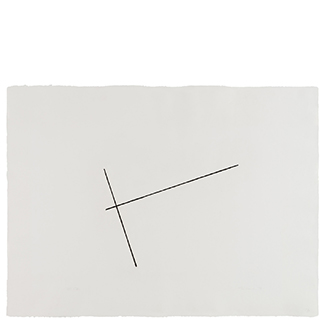 1976.19 Untitled [from <br>the series Four Variations of <br>Two Diagonal Lines]