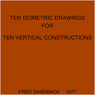 1977.13 Ten Isometric <br>Drawings for Ten Vertical <br>Constructions
