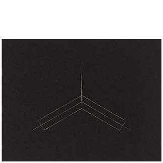 1986.15 Untitled [from <br>Twenty-Two Constructions <br>from 1967]