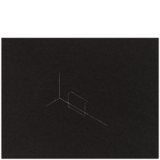 1986.19 Untitled [from <br>Twenty-Two Constructions <br>from 1967]