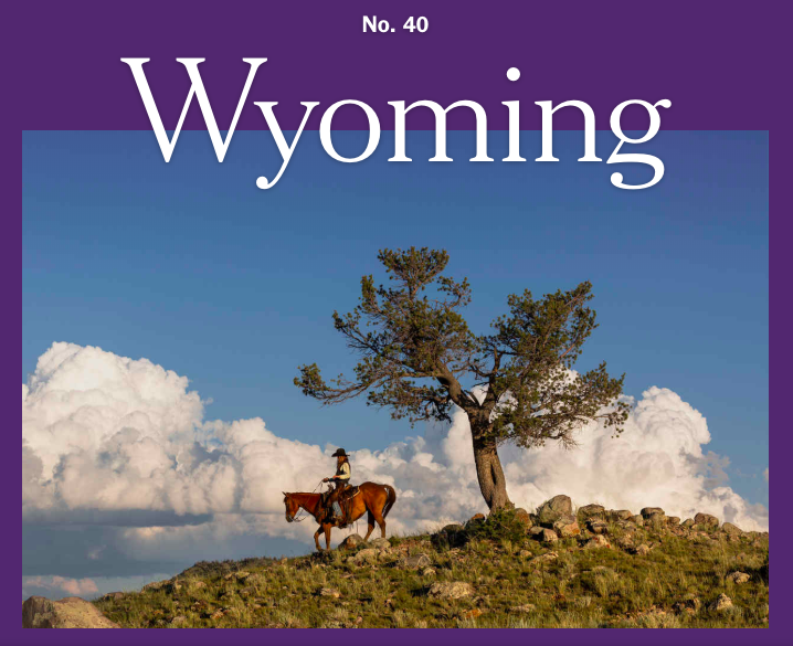 #40 of the 52 Places to Go in 2019 is WYOMING:  A sesquicentennial celebration of women's suffrage in the Equality State.