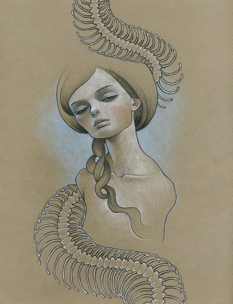 Snakebones and Girl