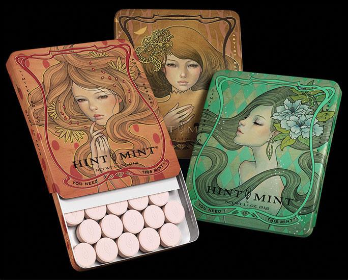 Hint Mint Artist Series. 2012.