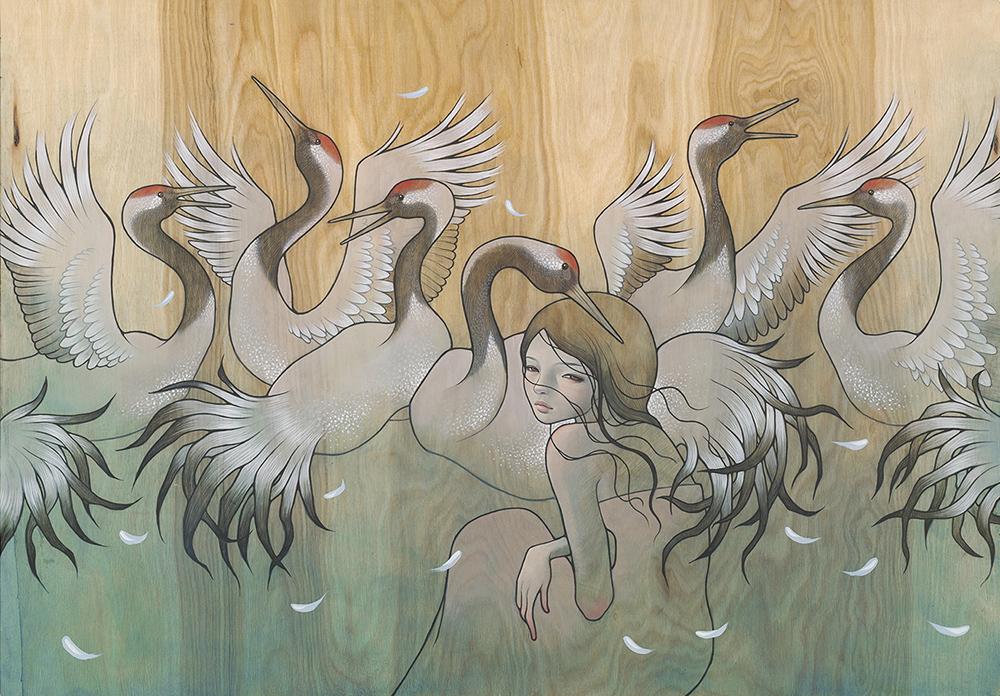 Tsuri no Ma (crane's dance)