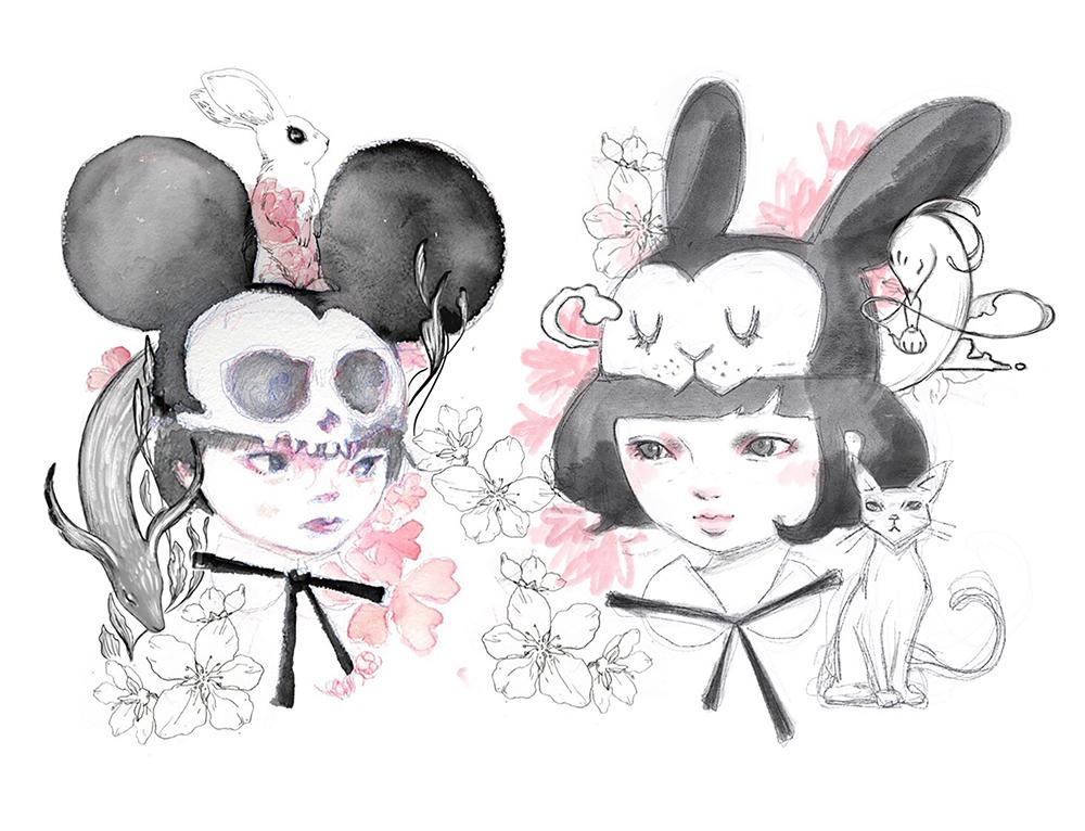 Momo no Sekku (sketch)