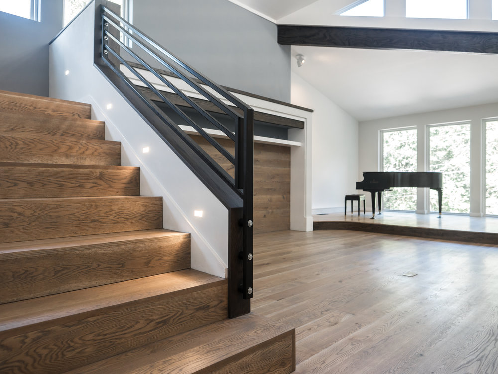 White Oak Stair Treads