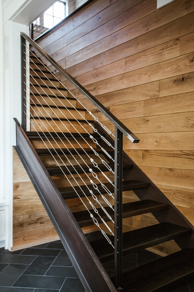 Ebonzied White Oak Stair Treads
