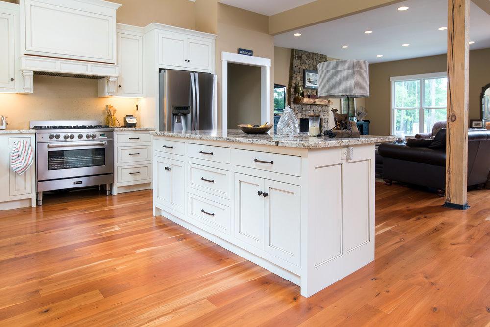 Wide Plank, Long Length Cherry Floors