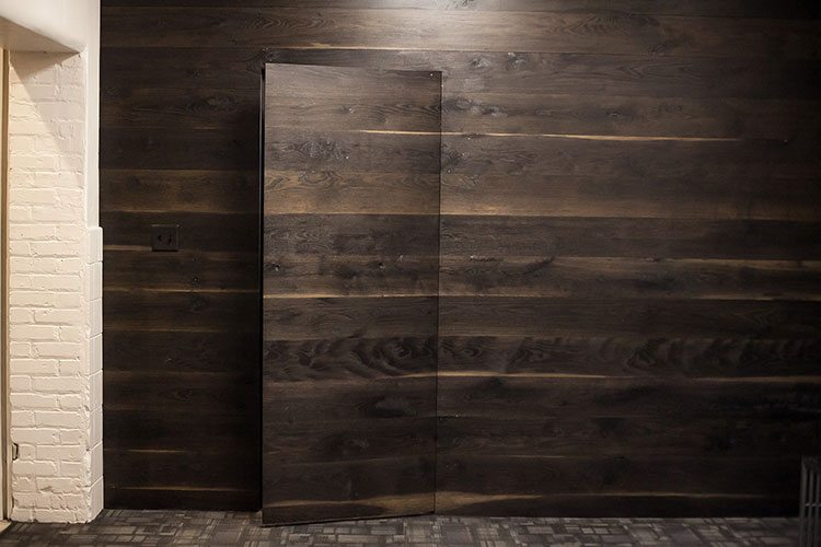 Wide Plank, Ebonized White Oak T&G