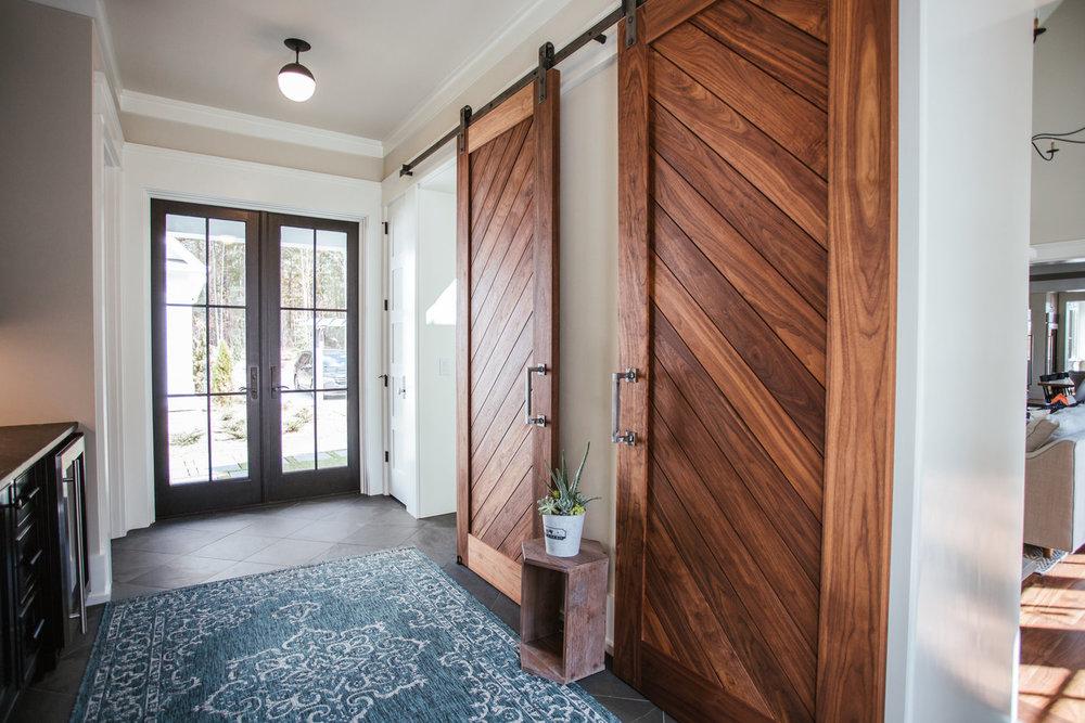 Barn Doors from Water's Edge Woods