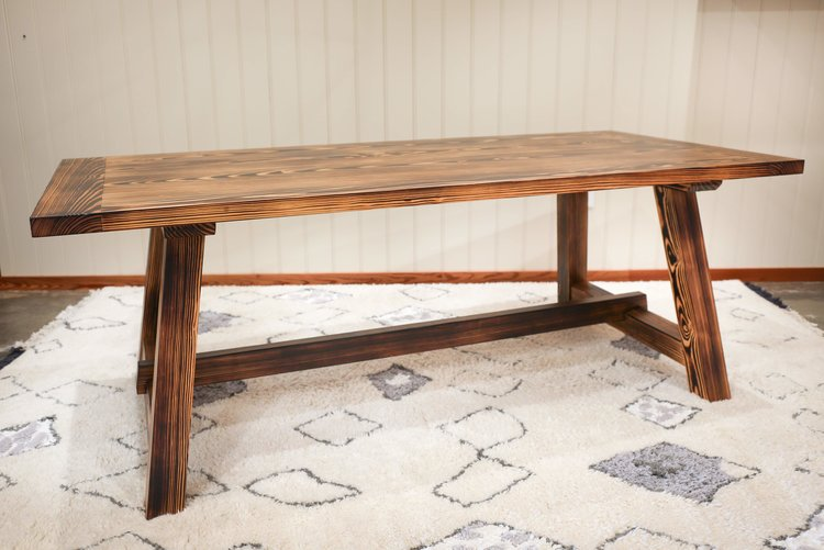 Toasted Pine Table