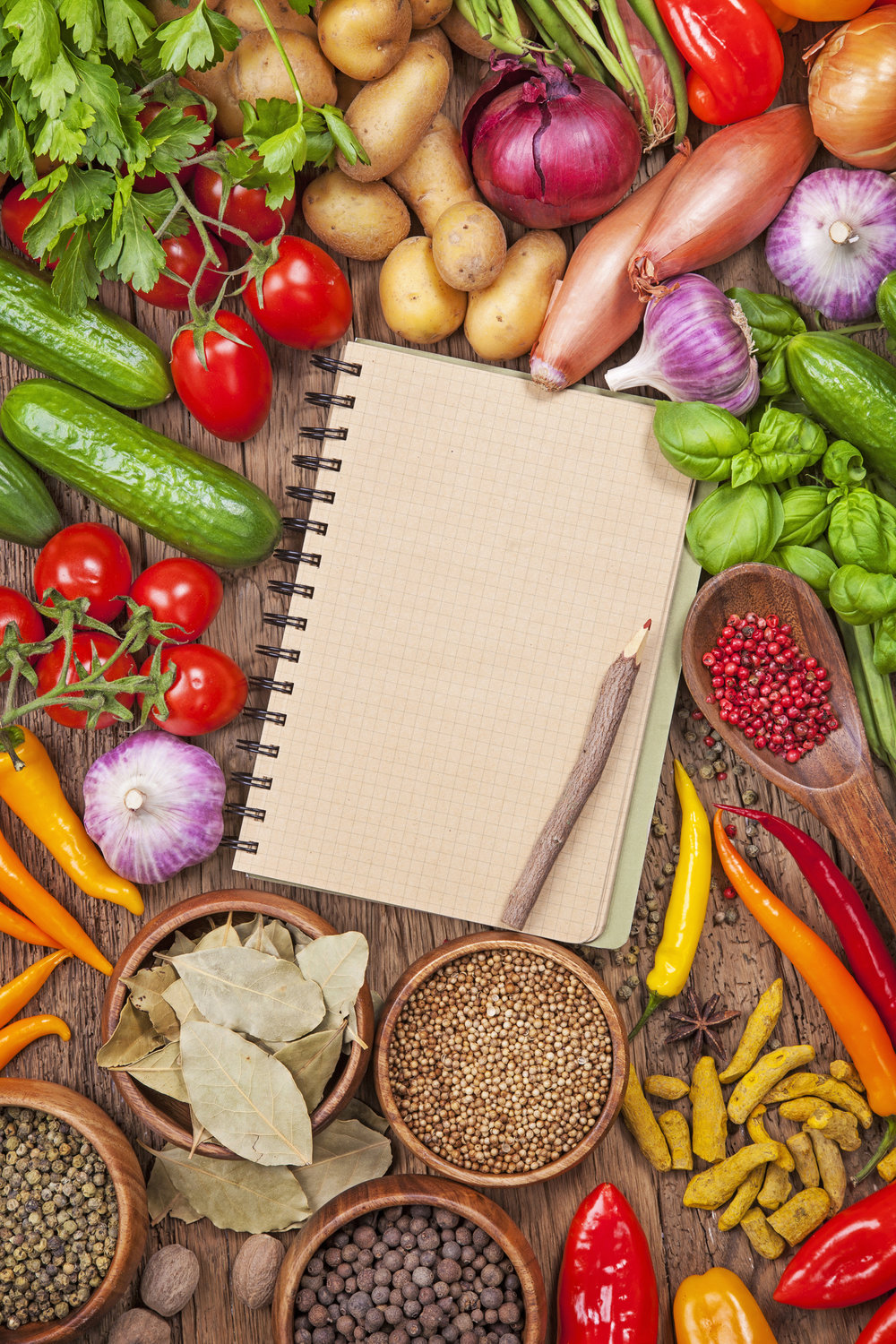 Vegetables and Recipe Book.jpg