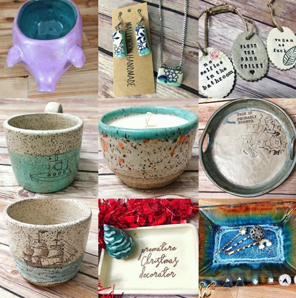 Mally Moon Handmade - Fun and functional handmade items for the home! Based in Charleston WV.