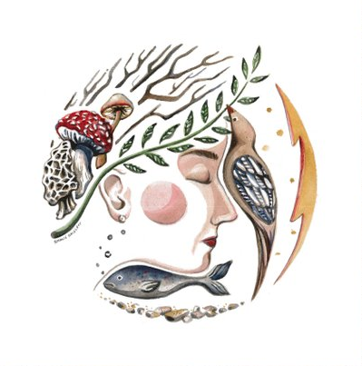 Rosalie Haizlett - * traveling one-woman illustration studio 🌿* using art to honor people & creatures of all kinds 🌞* WV based 📍