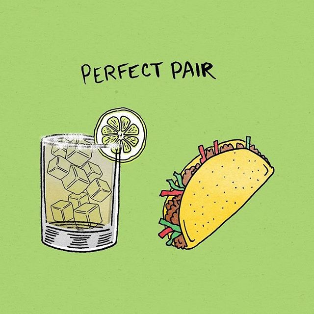 True love ❤️ $8 AYCE tacos and $5 Margs
