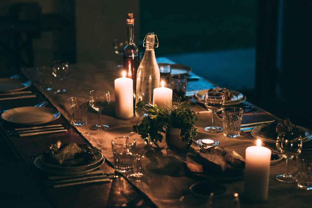 Exclusive private dining room at The Old Dairy Kitchen -