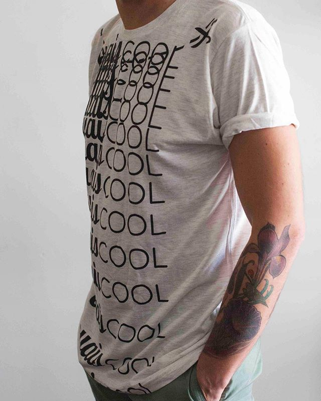 #OuaisCool Scissor Neck Tee. Unisex. Cut the collar, or don't ✂️✨ Order now on www.ouais.cool