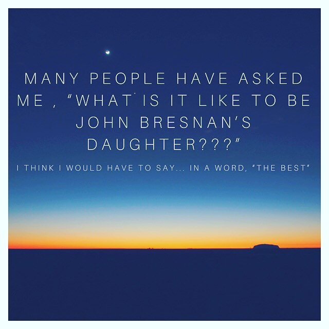 I realize that's actually two words, but hey, it's the #truth #fathersday #love #laughter #goodvibesonly #myhero #thebestofthebest @bcbresnan @johnjbresnan #loveyouDad #luckoftheirish 🤗🍀🏆🇮🇪